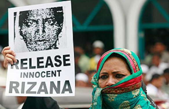 RIZANA RELEASE INNOCENT